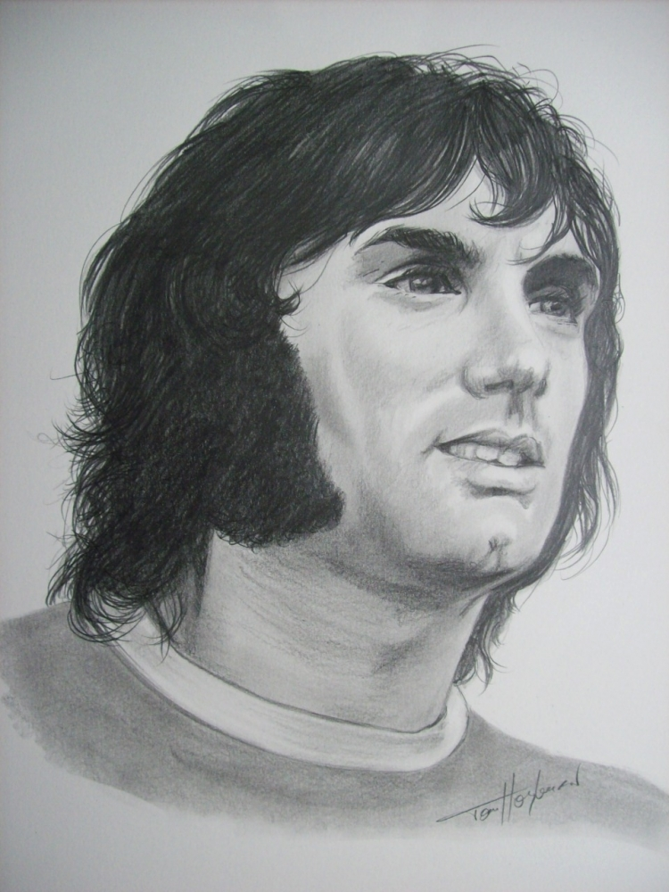 George Best por Tom-Heyburn